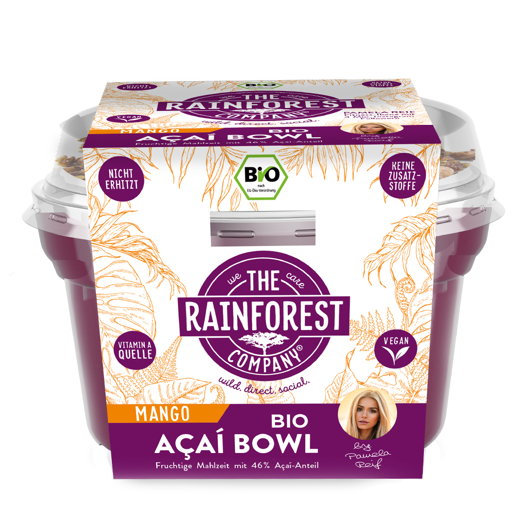the rainforest company packaging