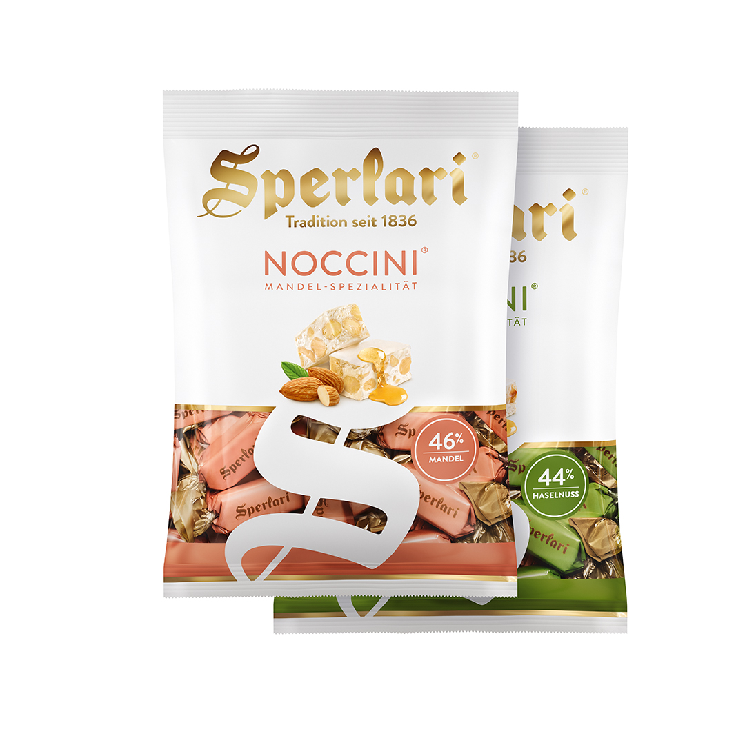 Sperlari Noccini Packaging